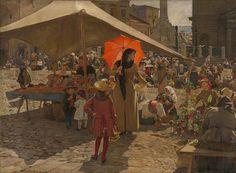 maliarstvo, obraz závesný, datovanie: 1889, rozmer: výška 83.3 cm, šírka 113.5 cm