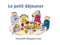 Le petit dejeuner by Virginia elcondefr via slideshare