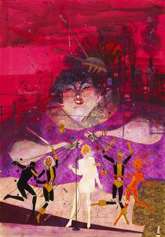 New Mutants by Sienkiewicz