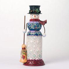 New Jim Shore Snowman nutcracker!