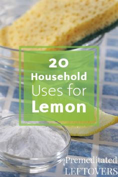 Get back to basics with these 20 ways to use lemon around the house. From infusing your water to enhancing your favorite cleaning products, there are so many ways to make your home look and feel fresher.