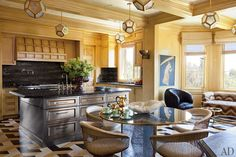 Preciously Me blog : Glamorous home in Bel Air by Kelly Wearstler