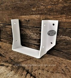 We make all kinds of custom steel joist hangers. These steel wood connectors are great when you want to have them not only hold together your rafters or fl. Playhouse Outdoor, Post And Beam, Wood Beams, Play Houses, Metal Working, Hanger, Building Products, Decorative Metal, Outdoor Stuff