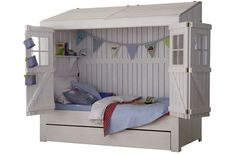Create a fantastic children room and add a spark of pleasure with a home bed. In the outside, like a kid's home with folding doors and within a comfy bed. Boys Room Decor, Boy Room, Kids Bedroom, Child's Room, Girls Bedroom Furniture, Boy Bedrooms, Kids Rooms, Bedroom Ideas, House Beds For Kids