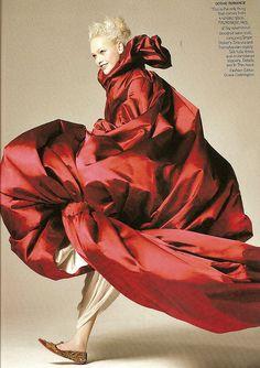 sasha pivovarova in mcQ US Vogue