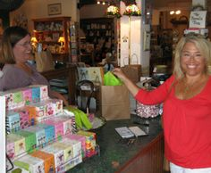 Madison Gift Mart & Cafe. 140 W Washington. Try the Gentleman Jim's Iced Tea! Vera Bradley. Gund's Plush. Lovely gifts. Perfect setting for a great lunch. 3 blocks down from the Brady Inn. www.bradyinn.com