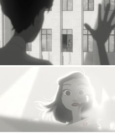 paperman by disney. lovelovelovelovelove