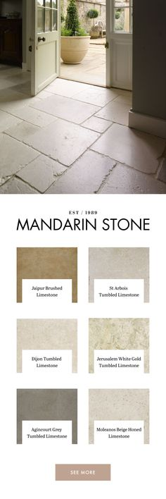 Mandarin Stone offer a wide range of stylish limestone tiles in natural tones from light to dark. Mercer House, Limestone Flooring, Travertine, Mandarin Stone, Flagstone Flooring, Kitchen Organisation, Farmhouse Style Kitchen, Downstairs Bathroom, Stone Tiles