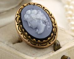 Antique C. 1880 Victorian 14k Yellow Gold Carved Sardonyx Cameo Estate Ring! in Jewelry & Watches, Vintage & Antique Jewelry, Fine, Victorian, Edwardian 1837-1910, Rings | eBay