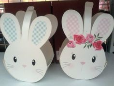 Bunny Drawing, Diy And Crafts, Paper Crafts, Bff Birthday Gift, Diy Gift Baskets, Diy Gift Box, Classroom Crafts, Easter Crafts For Kids, Flower Crafts