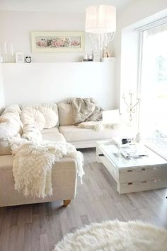30 Best White Theme Room Decoration Images Living Room White Home