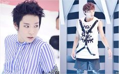 [FACT]: Himchan said that he will never have a beard because he can't grow one, and added that Jongup shaves often. ~~ <3