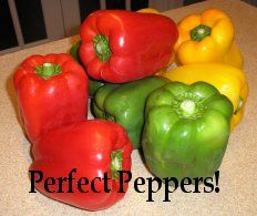 Perfect peppers for dehydrating. More info. at easy-food-dehydrating.com