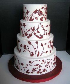 best red velvet wedding cake Red Velvet Wedding Cake Ideas