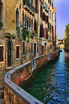 Venice, Italy ((( the canal )))