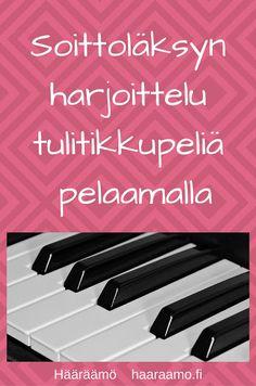 Soittoläksyn harjoittelu tulitikkupeliä pelaamalla Ukulele, Piano, Music Instruments, Education, Diy, Ideas, Bebe, Do It Yourself, Bricolage
