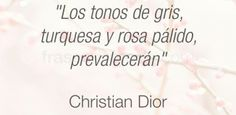 Frase de moda del diseñador Christian Dior