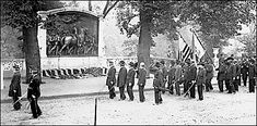 54th Massachusetts Infantry Regiment Veterans of the 54th Massachusetts Infantry at the dedication of the memorial to Robert Gould Shaw and the men of the 54th, May 31, 1897 Courtesy of the Massachusetts Historical Society, Boston (Not to be used without permission.)