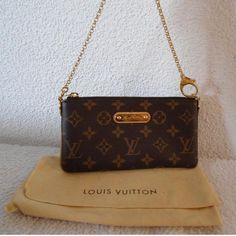 Tip: Louis Vuitton Small leather good (Brown)