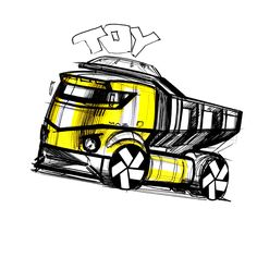 Trucks on Behance Car Drawing Pencil, Truck Design, Car Drawings, Car Set, Automotive Design, Electric Cars, Concept Cars, Cars And Motorcycles, Darth Vader