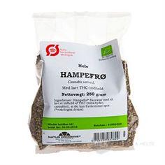 Hampefrø Hele Natur Drogeriet 250 g økologisk