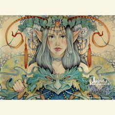 """CALYPSO"" GODDESS OF SILENCE - Linda Ravenscroft"