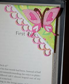 cute corner bookmark