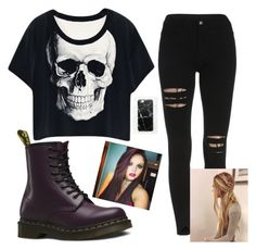 """""""Jesy style """" by danifashionblog on Polyvore featuring Dr. Martens and Casetify"""