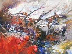watercolor, john blockley, abstract art, blockley watercolour, ann blockley