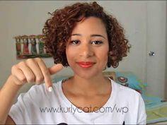 Como darle volumen al cabello rizado - YouTube