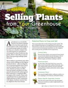 Selling Plants from Your Greenhouse By:  Stephanie Oaks--Molly Green - Spring 2016 - Page 100 http://www.mollygreenonline.com/mollygreen/spring_2016?pm=1&u1=texterity&linkImageSrc=/mollygreen/spring_2016/data/imgpages/tn/0070_uctarm.gif/&pg=101#pg101