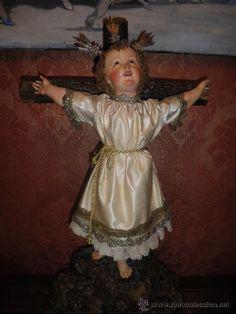 Niño Jesus del XIX (Arte - Arte Religioso - Escultura)