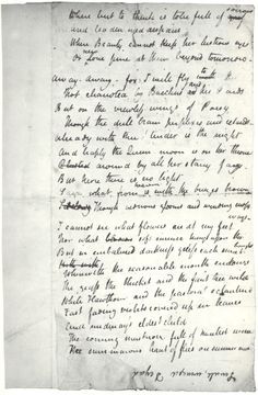 manuscript of ode to a nightingale by john keats little  john keats ode to a nightingale essay about myself essays and criticism on john keats ode to a nightingale critical evaluation