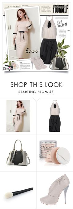 """""""Rose¤gal bow"""" by sneky ❤ liked on Polyvore featuring SHI 4, Viktor & Rolf and bows"""