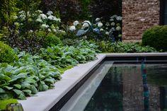 McCullough's Landscape & Nursery   Columbus, OH   poolside garden
