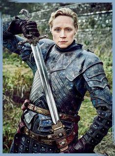 """Game of Thrones Gwendoline Christie as """"Brienne. Game of Thrones Gwendoline Christie as """"Brienne of Tarth"""" Game Of Thrones Brienne, Game Of Thrones Tv, Game Of Thrones Quotes, Lady Brienne, Brienne Of Tarth, Brienne Got, Louis Kahn, Costumes Game Of Thrones, Game Of Thrones Halloween"""