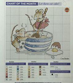 Ratinhas cozinhando (Margaret Sherry)