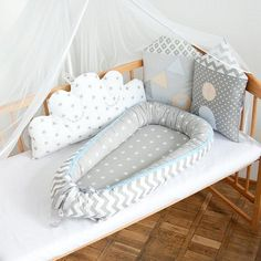 Baby showerCrib beddingNavy Baby Boy BeddingBaby nest