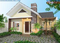 thiết kế kiến trúc nhà vườn đẹp