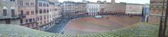 """La piazza più bella del mondo  - """"Il Campo""""  Siena -"""