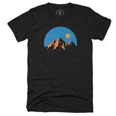 """The Mountains"" designed by Natasha Navasardian. What a beautiful sight."