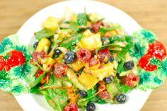 Fruity-Salad, vegan