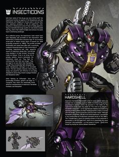 Art of Fall of Cybertron, Insecticons