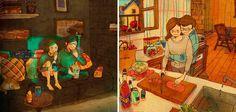 Sabe aqueles pequenos momentos que todo mundo fala? Pois é, o artista Puuung deu um jeito de capturá-los e transformá-los em ilustrações para aquelas pessoas que ainda não entendem o que significa e o grande significado que há por trás de todos eles dentro de um relacionamento.