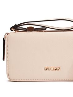 Bar Collection Bow Zip-Around Wristlet at Guess. Shop NowZip 642a683435f4d