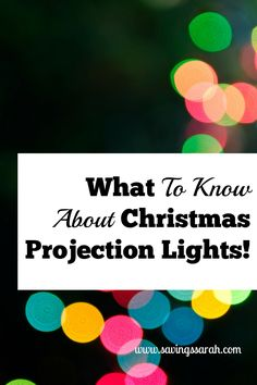 Looking for Christmas decorating that is a breeze. Christmas Projection Lights may be right up your alley as long as you know the dos and don'ts.