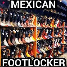 Mexican FootLocker. Which Juans you like?
