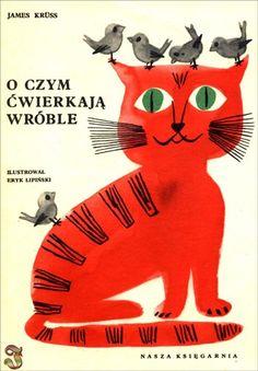 O czym ćwierkają wróble, James Kruss, Ilustration Eryk Lipiński