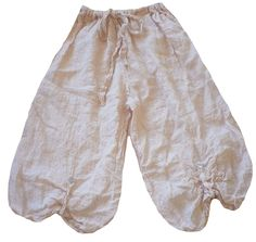 Magnolia Pearl: Conch shell linen Millie Pants
