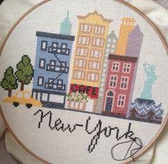 Newyork cross stitch